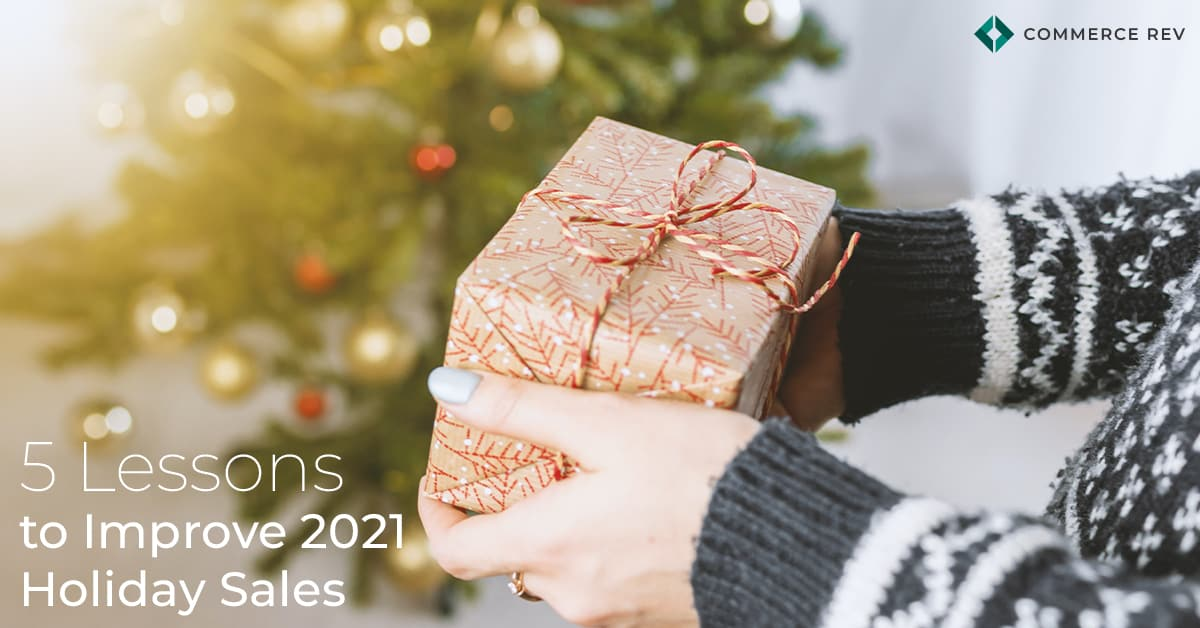 Improve Holiday Sales Header
